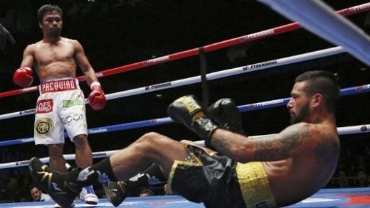 Matthysse perdió el título wélter de la AMB ante Pacquiao por knockout