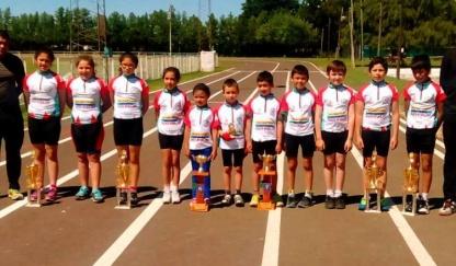 Se presentó la fecha del Infanto Juvenil de Ciclismo en Nogoyá