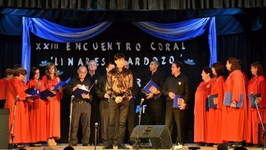 """El Coro Polifónico Municipal de Nogoyá participó del XXIII Encuentro Coral """"Linares Cardoso"""""""