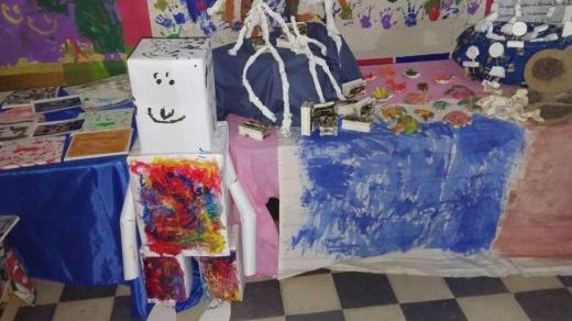 La Escuela Barcala realizó la muestra de las distintas áreas.