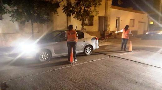 Hubo 17 vehículos retenidos y 50 infracciones de tránsitos en Nogoyá