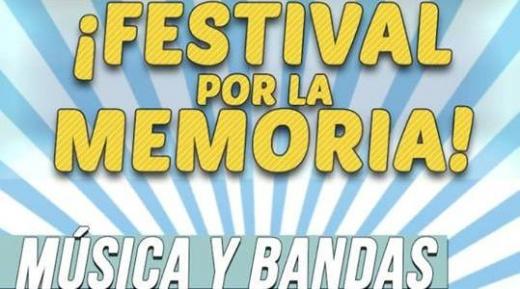 Jóvenes organizan el Festival por la Memoria en parque Bicentenario