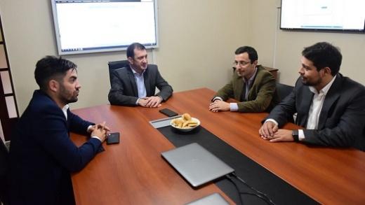 Cinto y Molas se reunieron con Edgardo Kueider, Secretario General de la Gobernación de Bordet