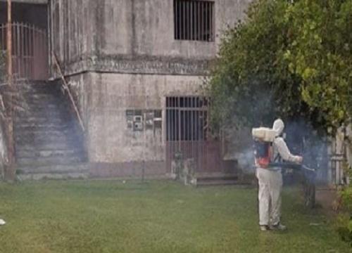 Dengue: Continúan con la fumigación en diferentes zonas de Nogoyá