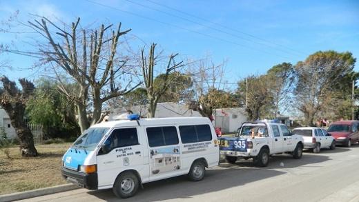 Accidentes y hurtos, los hechos desatacados de la semana en Nogoyá