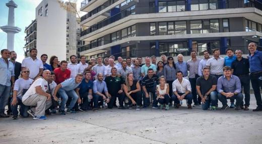 Adrián Perotti junto a la delegación de Entre Ríos participó de la Convención Nacional del Deporte
