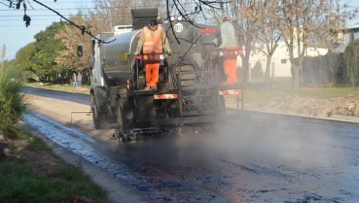 El Municipio de Nogoyá avanza con las 43 cuadras de pavimento