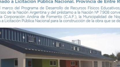 Nueva fecha de aperturas de ofertas para Jardín en Barrio Don Gerónimo