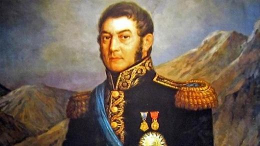 En la escuela Yapeyú se realiza el acto oficial en homenaje a San Martín