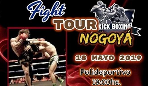 Este sábado habrá Kick Boxing, Muay Thai y Full Contac en el Polideportivo Municipal