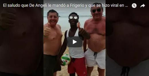El video del senador De Angeli generó fuertes críticas