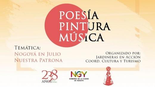 Por los festejos patronales, organizan un Concurso de Poesías, Pintura y Música