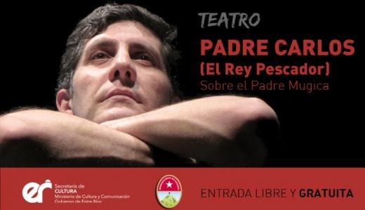 Se presentará una obra de teatro sobre el padre Mugica en Nogoyá
