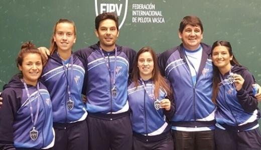 Zair se consagró subcampeona en el Mundial de Frontón en Chile